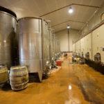 Cuves vins Domaine Terre de Mistral